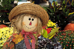 Scarecrow Decoration Royalty Free Stock Images