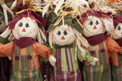 Scarecrow Decorations Royalty Free Stock Photography