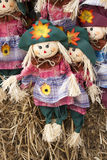 Scarecrow Decorations Stock Images