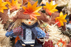 Scarecrow Decorations Stock Image