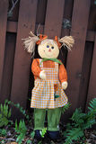 Scarecrow doll Royalty Free Stock Images