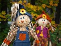 Scarecrow Dolls Stock Image