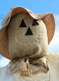 Scarecrow Face Royalty Free Stock Images