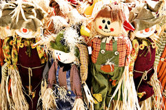 Scarecrow Family Royalty Free Stock Photo