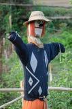 Scarecrow in the Garden Royalty Free Stock Photo