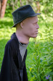 Scarecrow in the garden Stock Photography