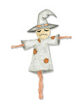 Scarecrow - Halloween attribute. Stock Photos