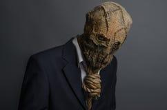 Scarecrow Halloween Stock Image