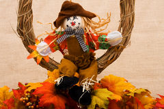 Scarecrow hanging out Royalty Free Stock Images