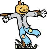 Scarecrow Isolated Stock Photo