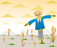 Scarecrow in Suits Royalty Free Stock Photography