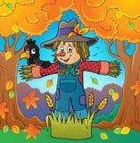 Scarecrow theme image 4 royalty free illustration