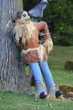 Scarecrow on tree. Stock Photo