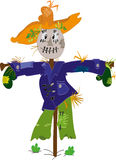 Scarecrow. Vector illustration of the scarecrow Royalty Free Stock Image