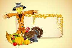 Scarecrow with Vegetable Stock Images