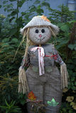 Scarecrow. Wearing a hat and a smile Stock Photo