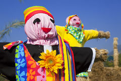 Scarecrows Royalty Free Stock Photo