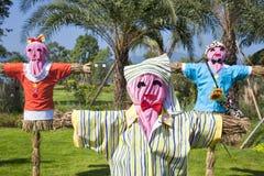 scarecrows Royaltyfri Fotografi
