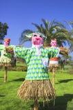 scarecrows Royaltyfria Foton