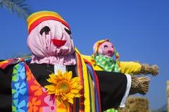 Scarecrows Arkivfoton