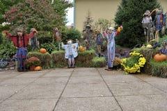scarecrows Arkivbilder