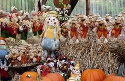scarecrows Royaltyfri Bild