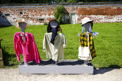 scarecrows tre Arkivfoto