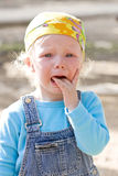Scared bawling Royalty Free Stock Photos