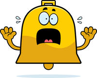 Scared Cartoon Bell Royalty Free Stock Images