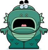 Scared Cartoon Creature Stock Photos