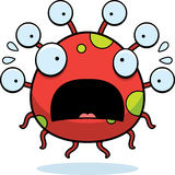 Scared Cartoon Eyeball Monster Royalty Free Stock Photos