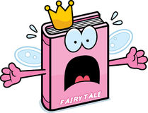 Scared Cartoon Fairy Tale Royalty Free Stock Image