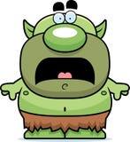 Scared Cartoon Goblin Stock Photo