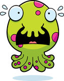 Scared Cartoon Monster Stock Images