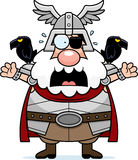 Scared Cartoon Odin Royalty Free Stock Photo