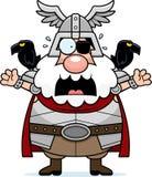 Scared Cartoon Odin Royalty Free Stock Photo