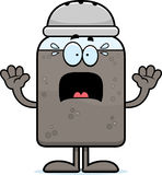 Scared Cartoon Pepper Royalty Free Stock Photo