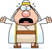 Scared Cartoon Shepherd Royalty Free Stock Image