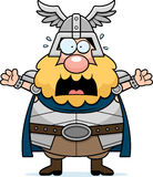 Scared Cartoon Thor Royalty Free Stock Image