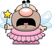 Scared Cartoon Tooth Fairy Royalty Free Stock Photos