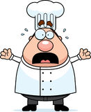 Scared Chef Royalty Free Stock Photography