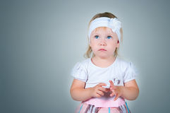 The scared child Royalty Free Stock Image
