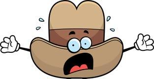 Scared Cowboy Hat Stock Photos