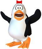 Scared female penguin Royalty Free Stock Photos
