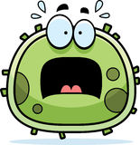 Scared Germ Microbe Royalty Free Stock Image