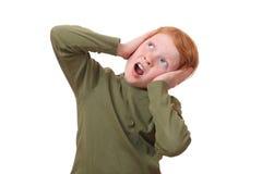 Scared girl Stock Photos