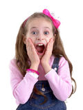 Scared Girl Royalty Free Stock Photography