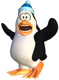 Scared penguin Royalty Free Stock Photography