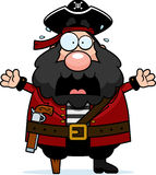 Scared Pirate Royalty Free Stock Image