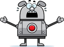 Scared Robot Dog Royalty Free Stock Photography